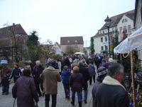 Martinimarkt 2009 - Marktbetrieb