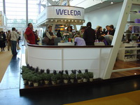 Weleda Messestand -